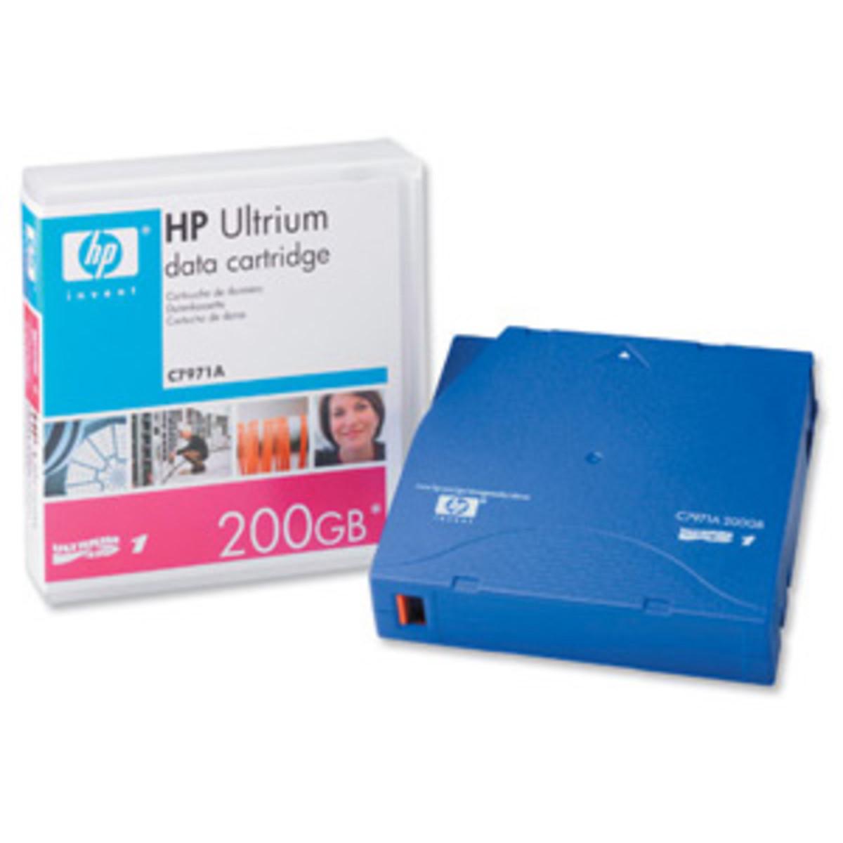 HP LTO1 Ultrium 200GB Data Cartridge (C7971A)