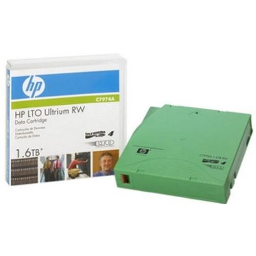 HP LTO4 Ultrium 1.6TB RW Data Cartridge (C7974A)