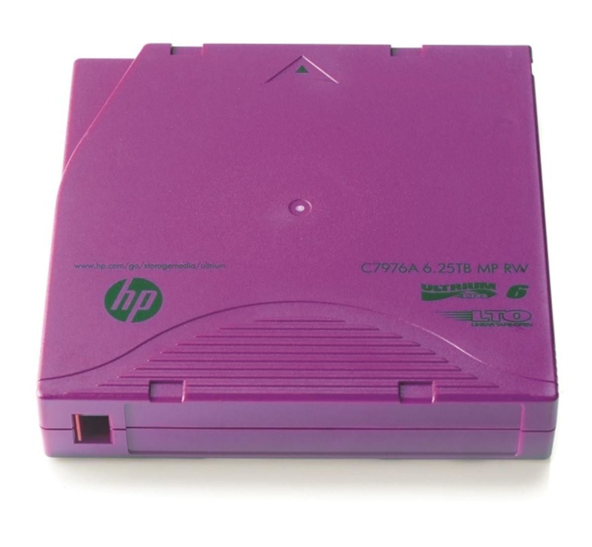 HP LTO6 Ultrium 6.25TB RW Data Cartridge (C7976A)