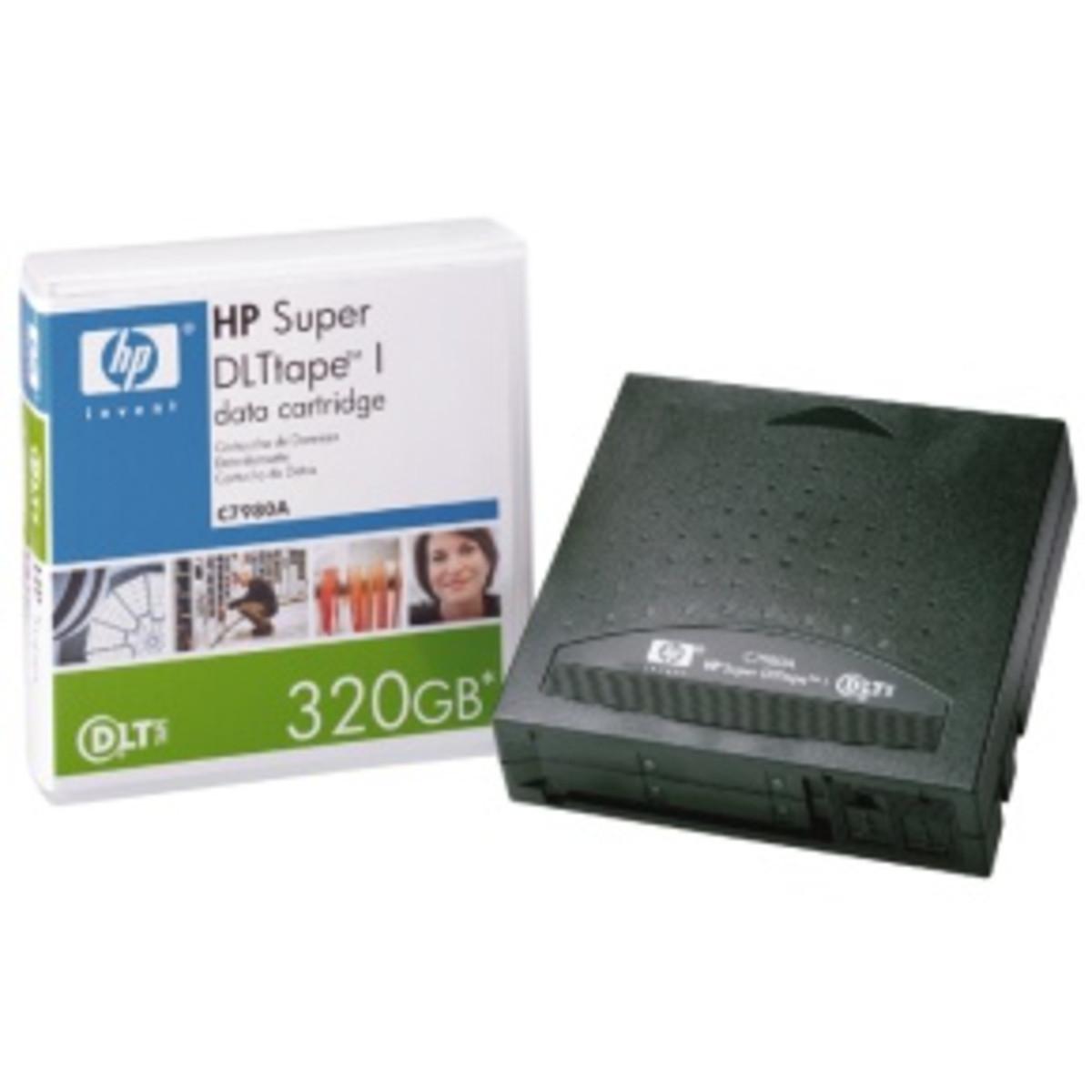 HP SDLT Tape 320GB Data CT (C7980A)