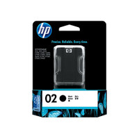 HP 02 (C8721WA) Black Ink Cartridge