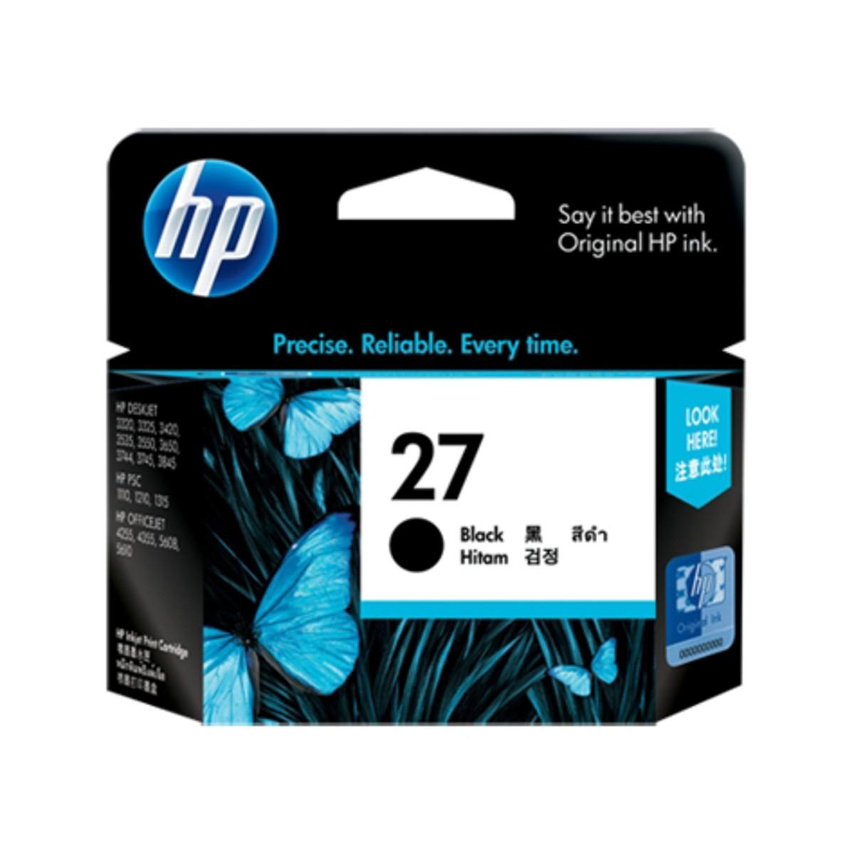 HP 27 (C8727AA) Black Ink Cartridge
