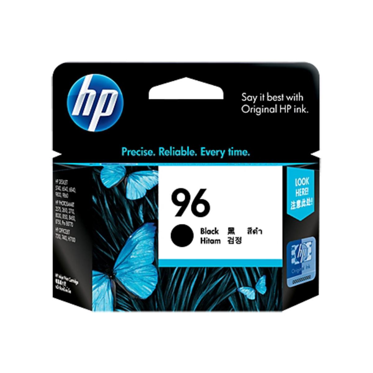 HP 96 (C8767WA) Black Ink Cartridge