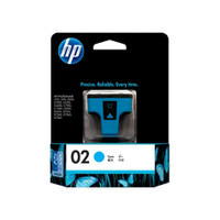 HP 02 (C8771WA) Cyan Ink Cartridge