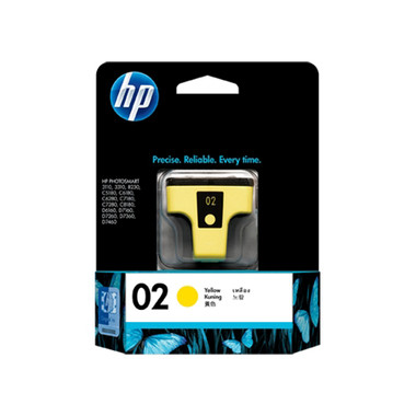 HP 02 (C8773WA) Yellow Ink Cartridge