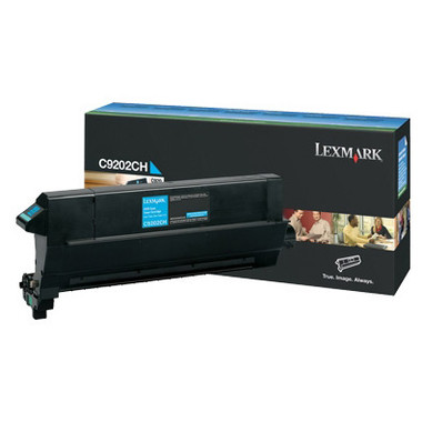 Lexmark C9202 Cyan Toner Cartridge (Original)