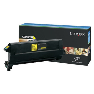 Lexmark C9202 Yellow Toner Cartridge (Original)