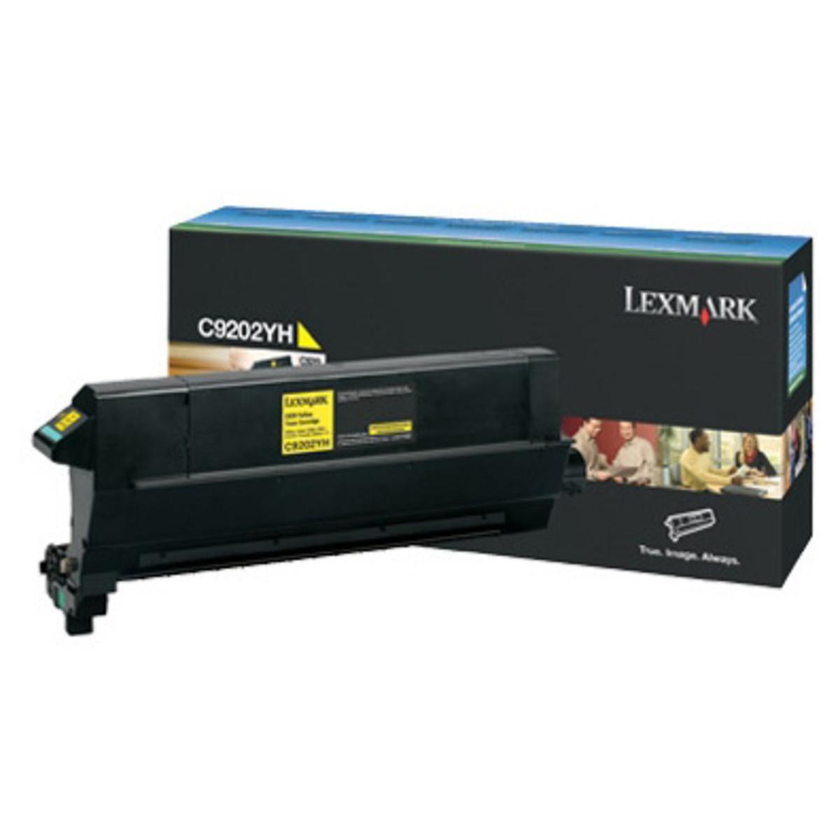 Lexmark C9202YH Yellow Toner Cartridge