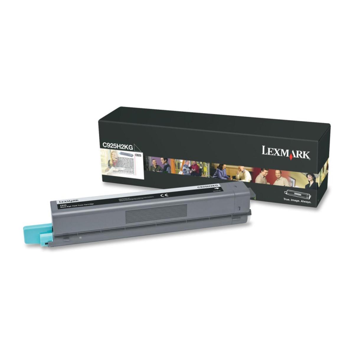 Lexmark C925H2KG Black Toner Cartridge - High Yield