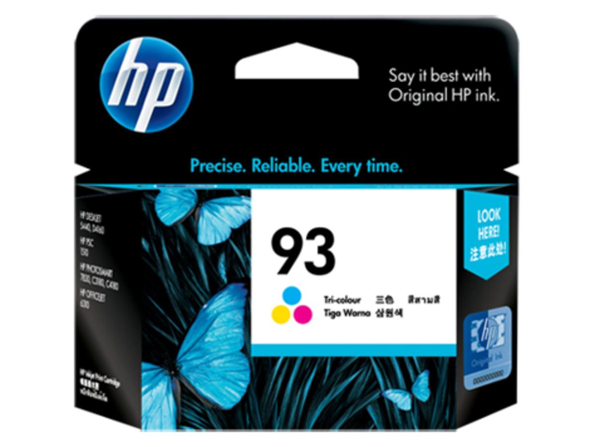 HP 93 (C9361WA) Colour Ink Cartridge