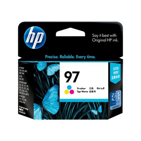 HP 97 Tri-Colour Ink Cartridge (Original)