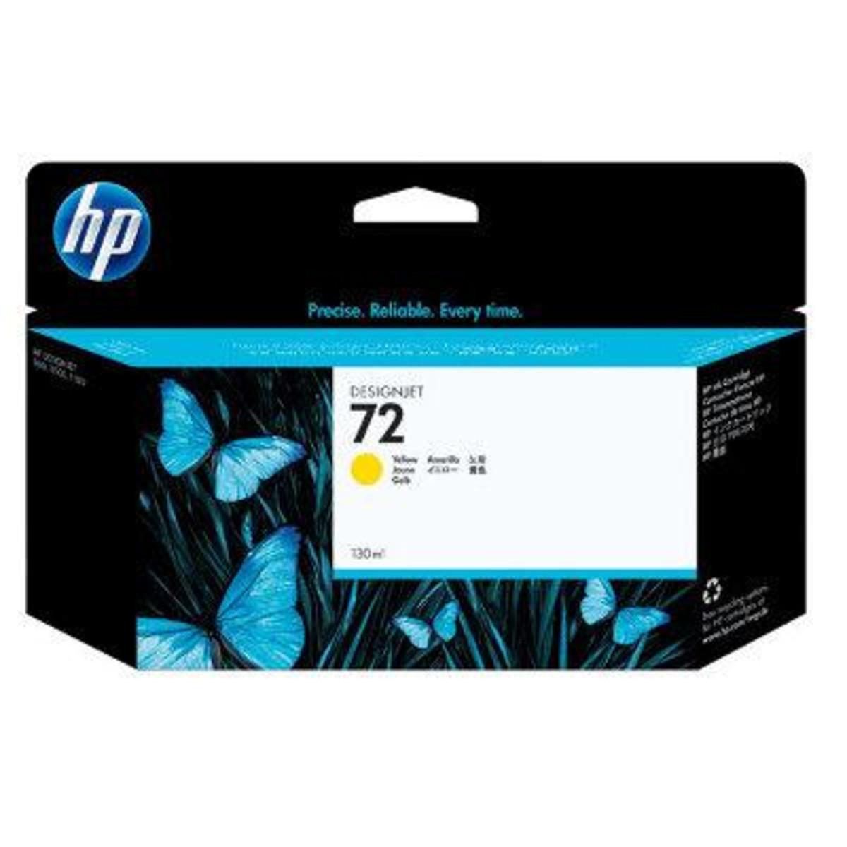 HP 72 (C9373A) Yellow Ink Cartridge