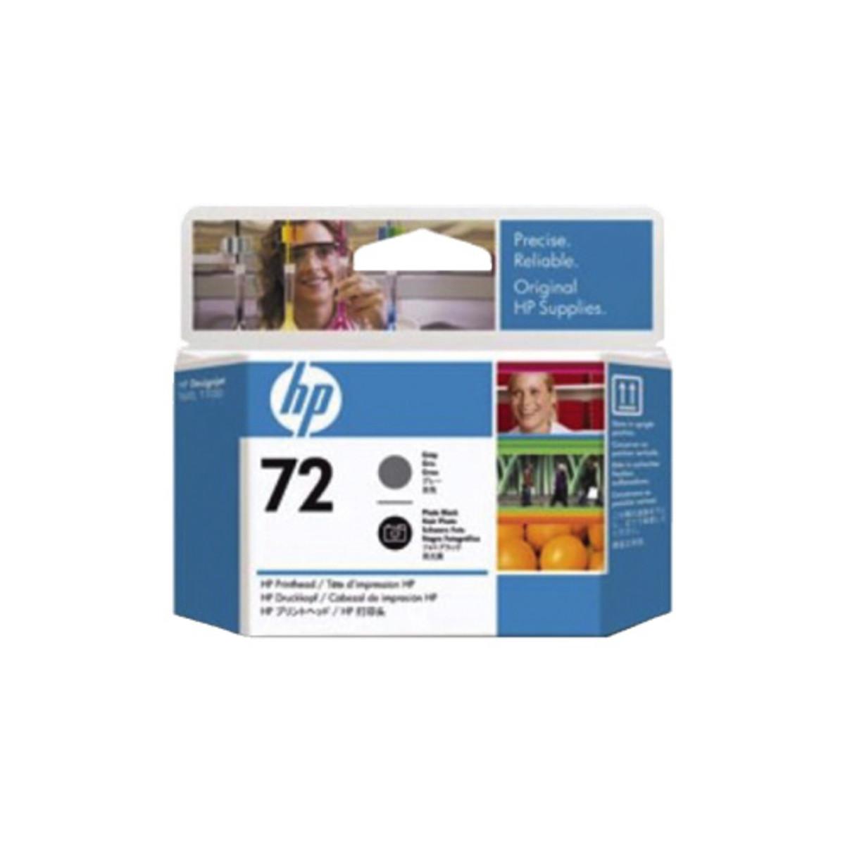 HP 72 (C9380A) Grey / Photo Black Print Head