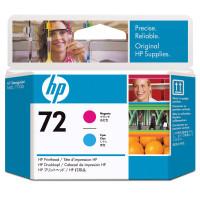 HP 72 (C9383A) Magenta / Cyan Print Head