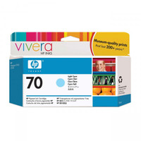 HP 70 (C9390A) Light Cyan Ink Cartridge