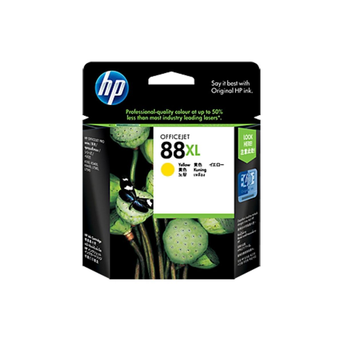 HP 88XL (C9393A) Yellow Ink Cartridge - High Yield