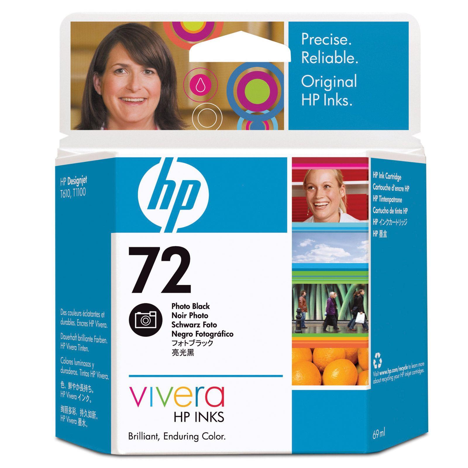 HP 72 Photo Black Ink Cartridge (Original)