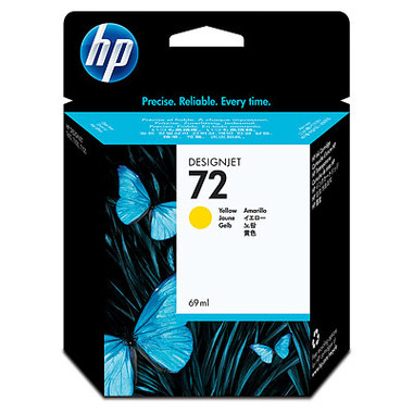 HP 72 (C9400A) Yellow Ink Cartridge
