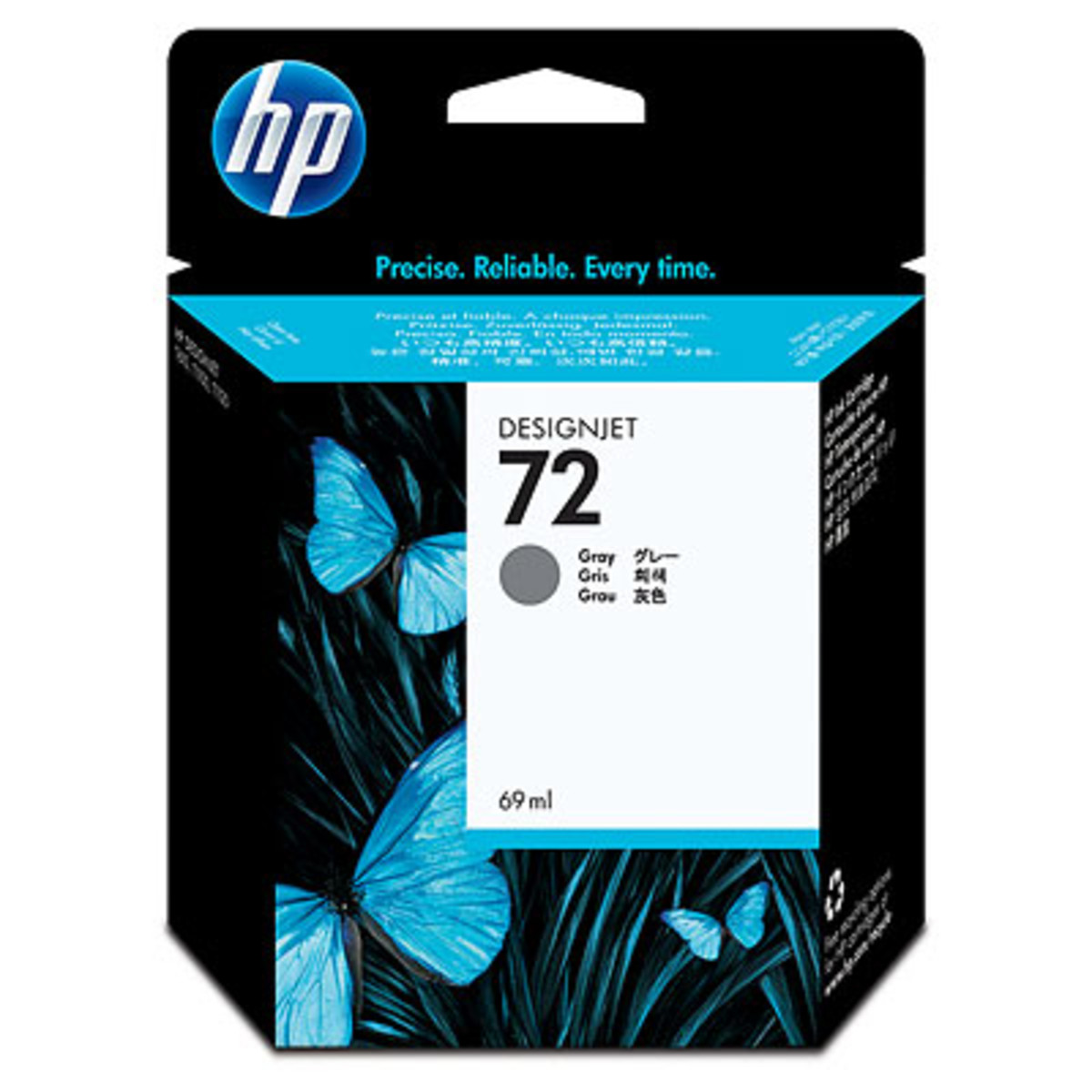 HP 72 (C9401A) Grey Ink Cartridge