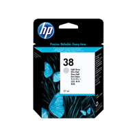 HP 38 (C9414A) Light Grey Ink Cartridge