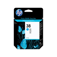 HP 38 (C9415A) Cyan Pigment Ink Cartridge