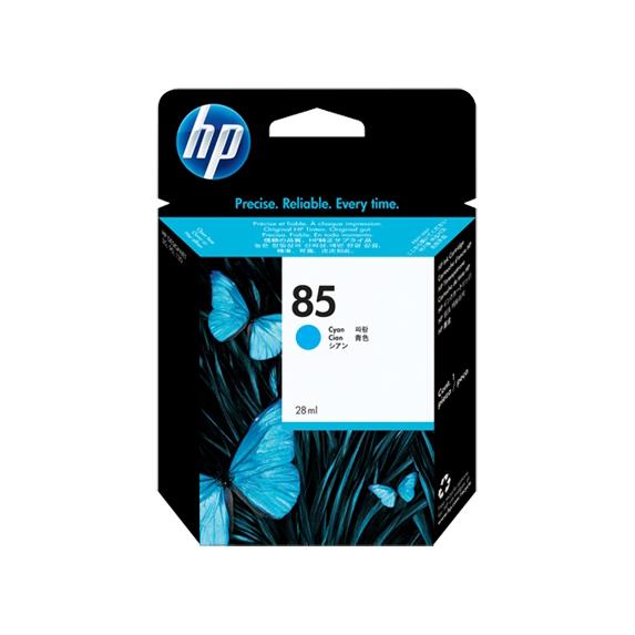 HP 85 Cyan Ink Cartridge (Original)