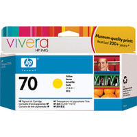 HP 70 Yellow Ink Cartridge (Original)