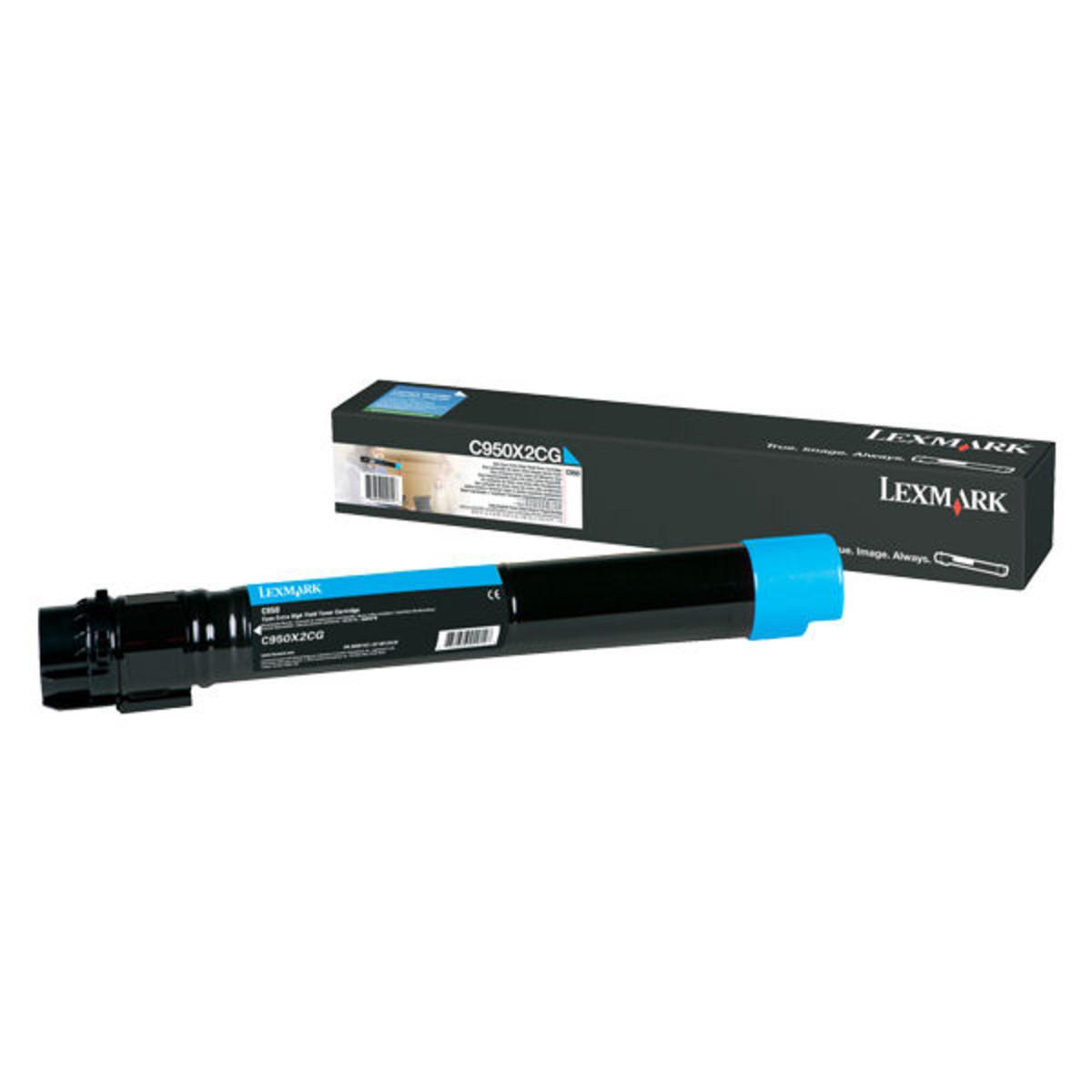 Lexmark C950X2CG Cyan Toner Cartridge