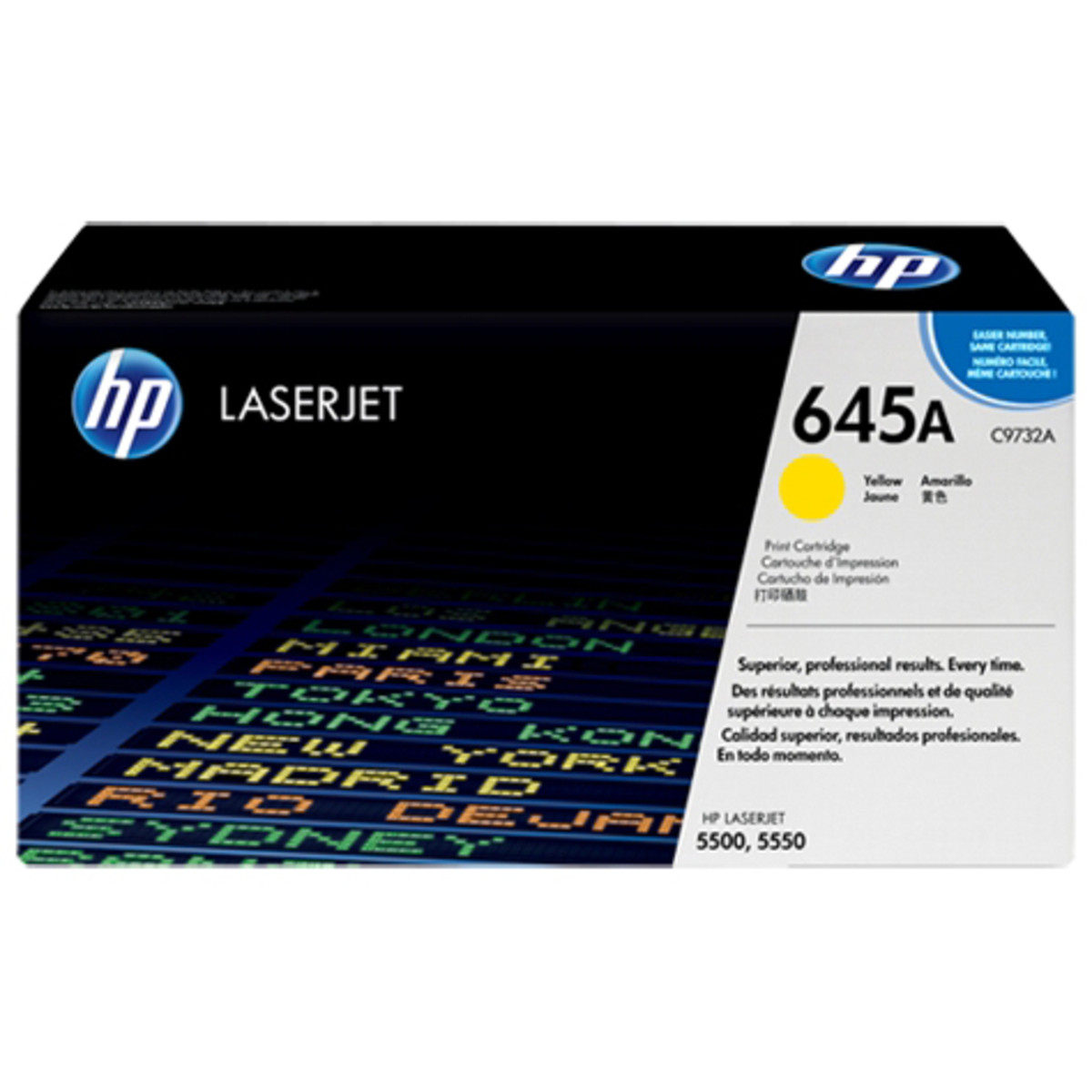 HP 645A (C9732A) Yellow Toner Cartridge