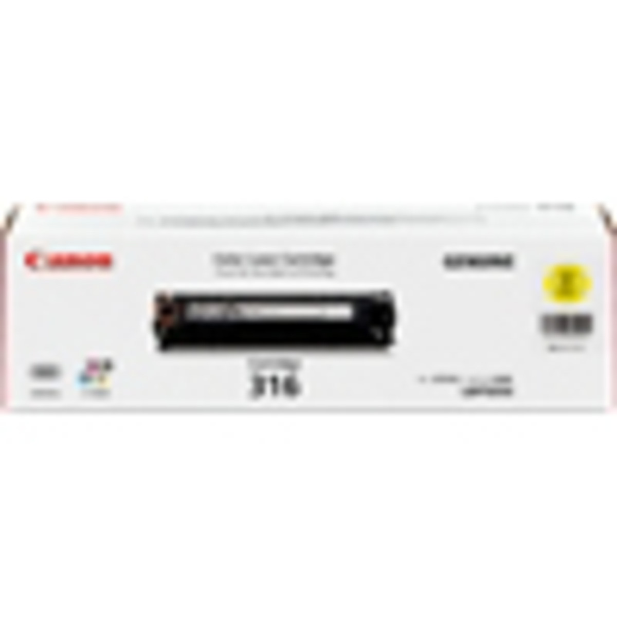 Canon CART-316Y Yellow Toner Cartridge