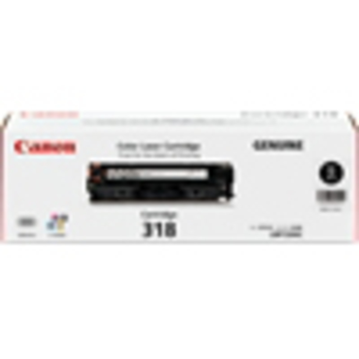 Canon CART-318BK Black Toner Cartridge