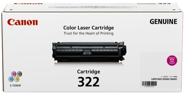 Canon CART322 Magenta Toner Cartridge (Original)