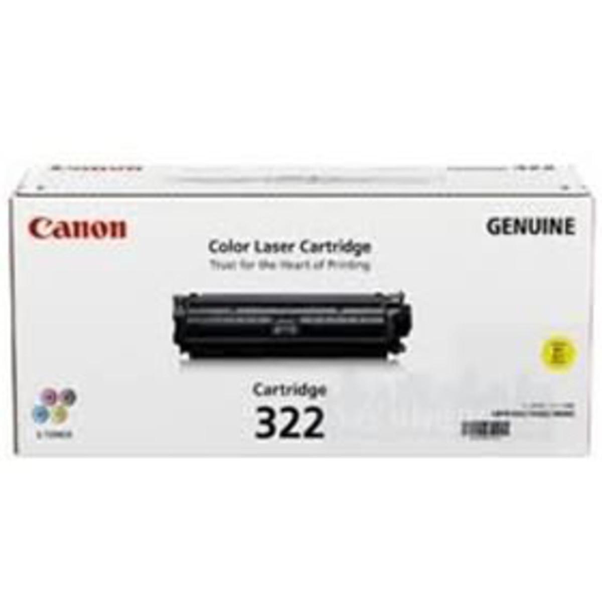 Canon CART-322Y Yellow Toner Cartridge