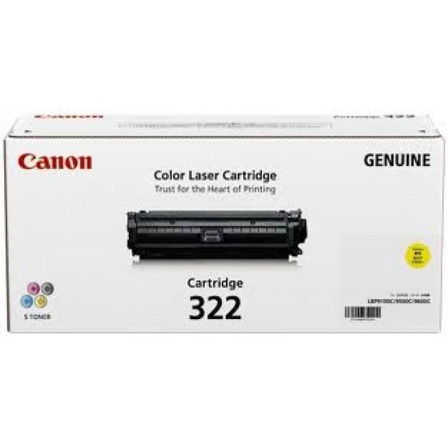 Canon CART322 Yellow Toner Cartridge (Original)