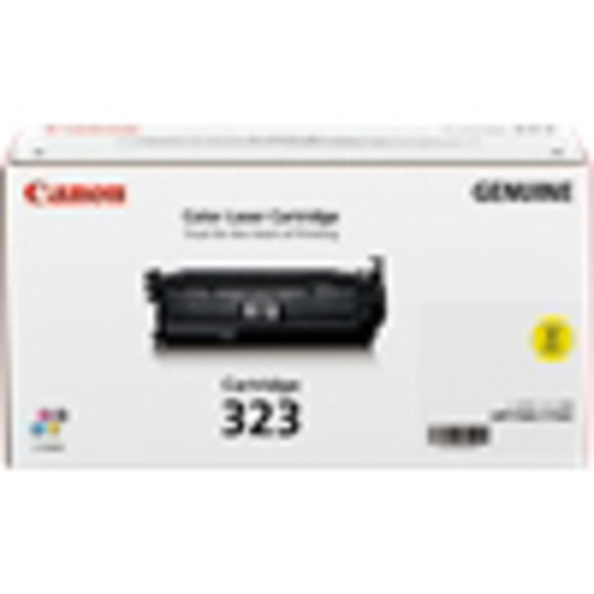 Canon CART-323Y Yellow Toner Cartridge- High Yield