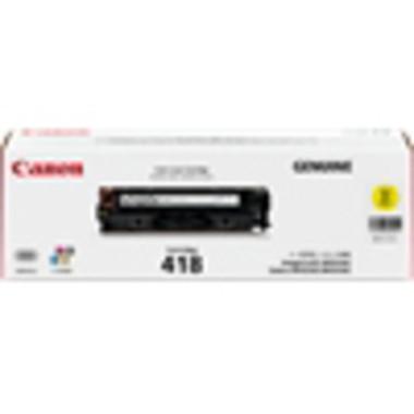 Canon CART418 Yellow Toner Cartridge (Original)