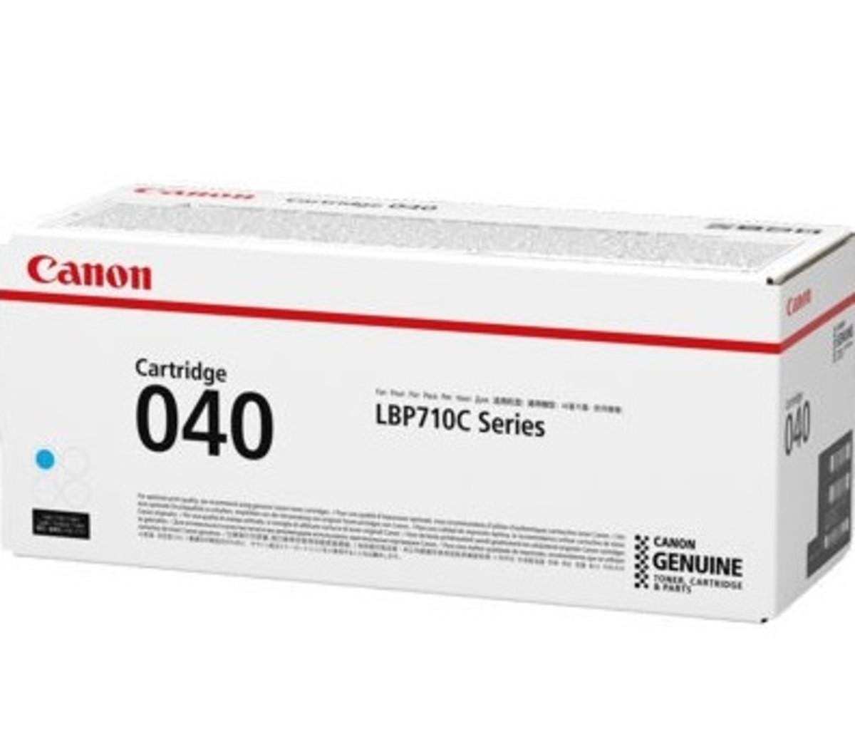Canon CART040C Cyan Toner Cartridge