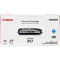 Canon CART317 Cyan Toner Cartridge (Original)
