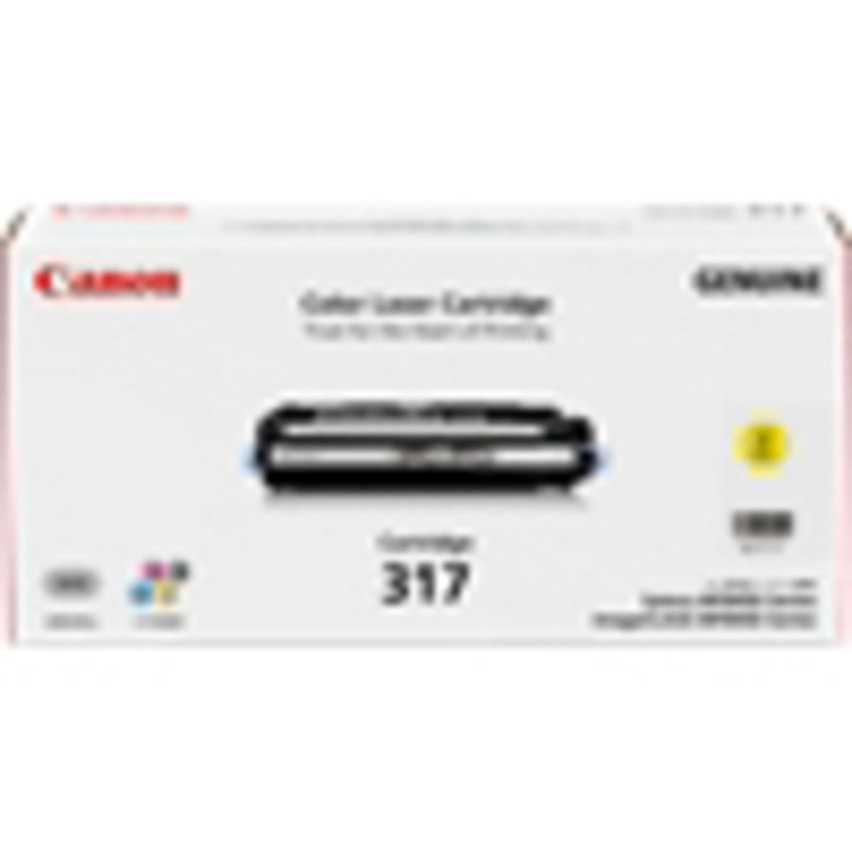 Canon CART-317Y Yellow Toner Cartridge