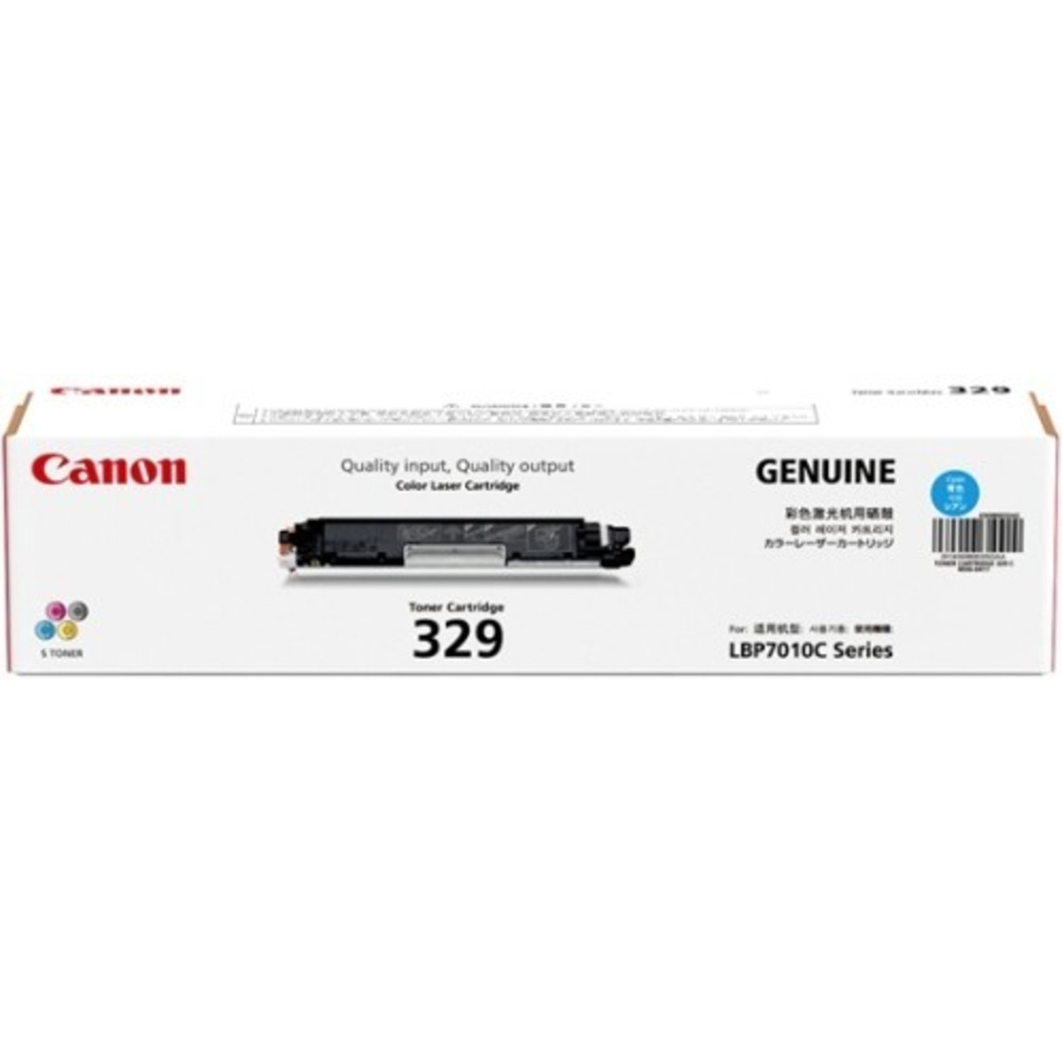 Canon CART-329C Cyan Toner Cartridge