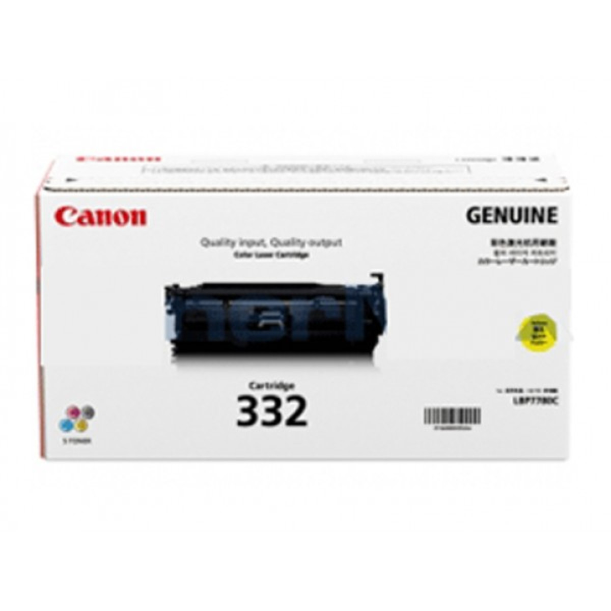 Canon CART-332Y Yellow Toner Cartridge