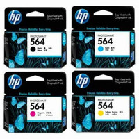 HP 564 Ink Cartridge Value Pack - Includes: [1 x Black, Cyan, Magenta, Yellow]