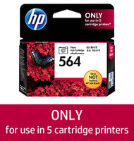 HP 564 (CB317WA) Photo Black Ink