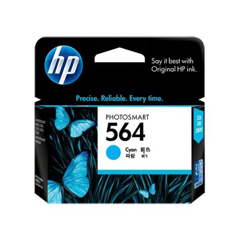 HP 564 Cyan Ink Cartridge (Original)
