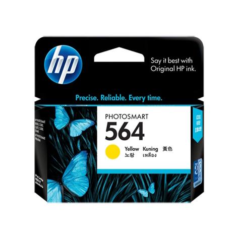 HP 564 Yellow Ink Cartridge (Original)