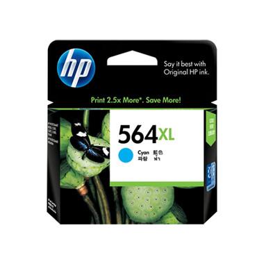HP 564XL (CB323WA) Cyan Ink Cartridge - High Yield