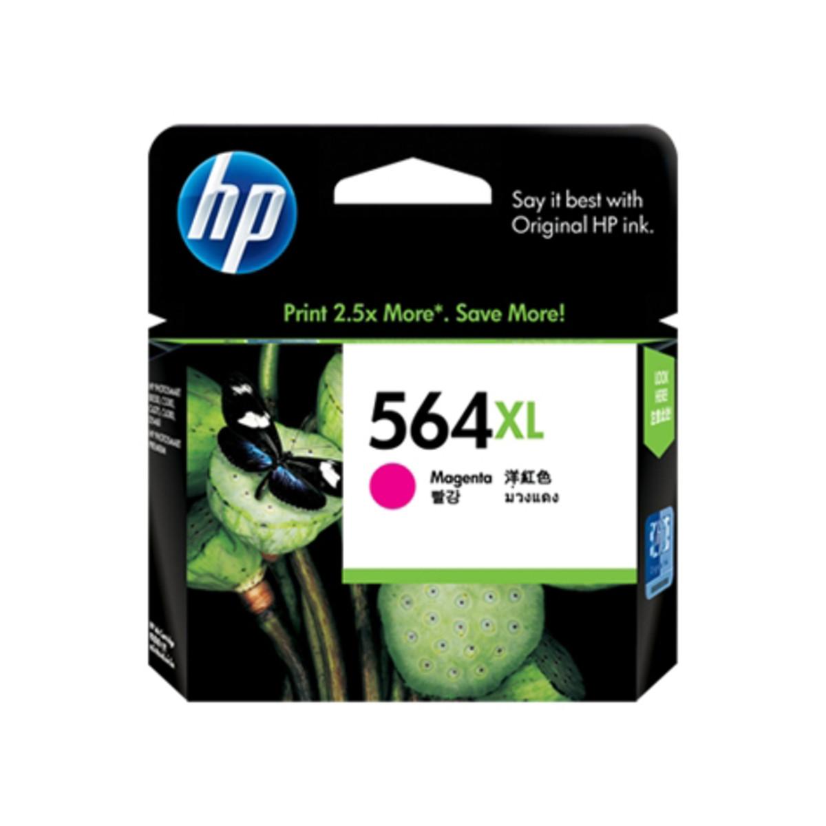 HP 564XL (CB324WA) Magenta Ink Cartridge - High Yield