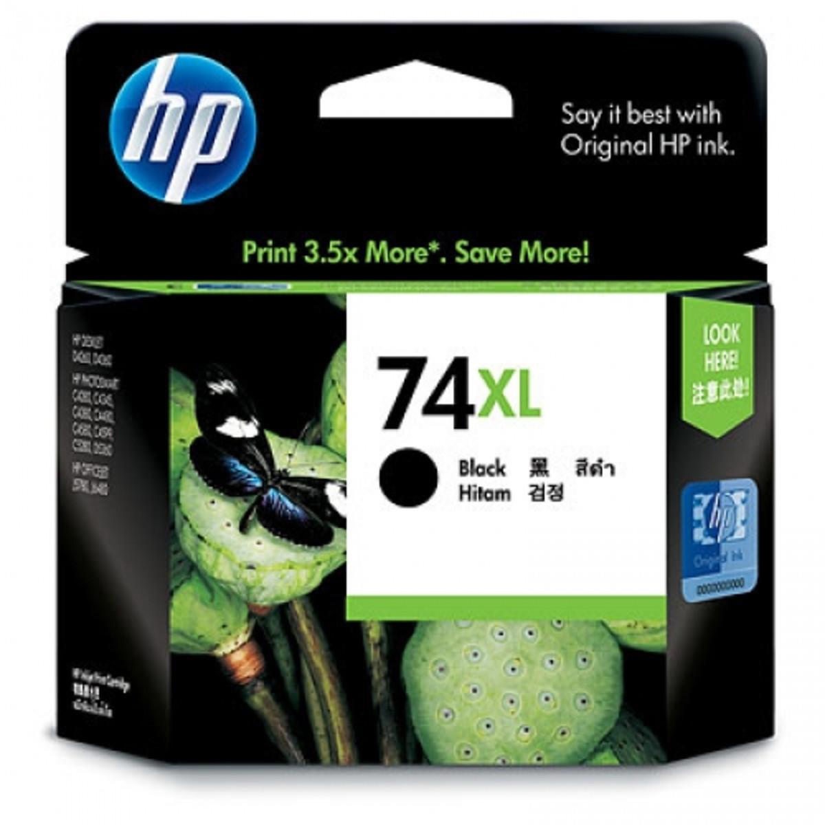 HP 74XL (CB336WA) Black Ink Cartridge - High Yield