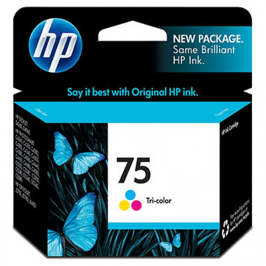 HP 75 (CB337WA) Tri-Colour Ink Cartridge