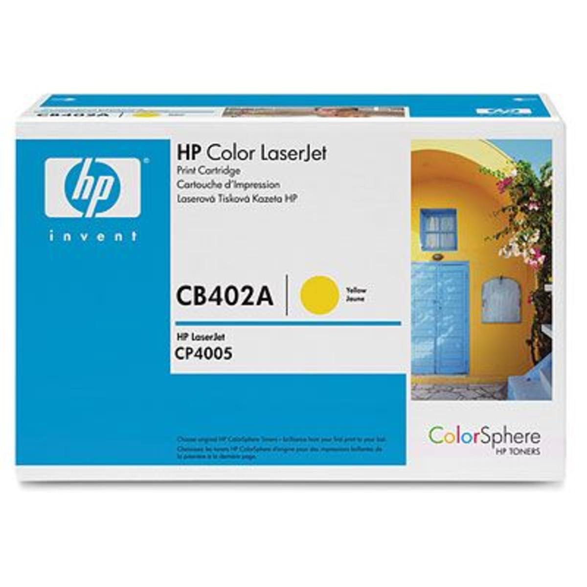 HP 642A (CB402A) Yellow Toner Cratridge